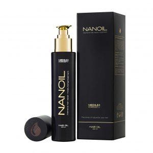 Cheveux sains avec Nanoil
