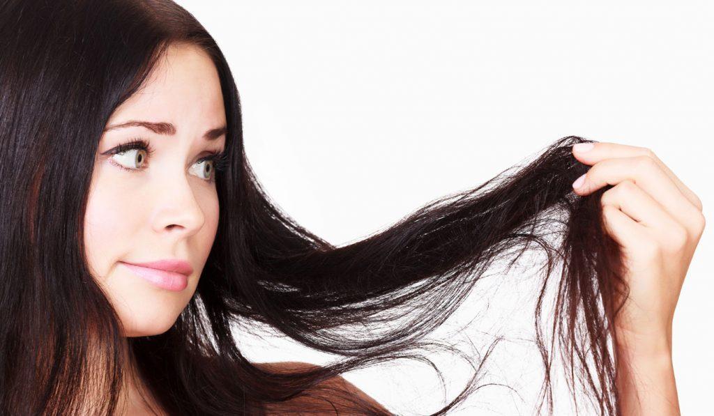cheveux endommagés